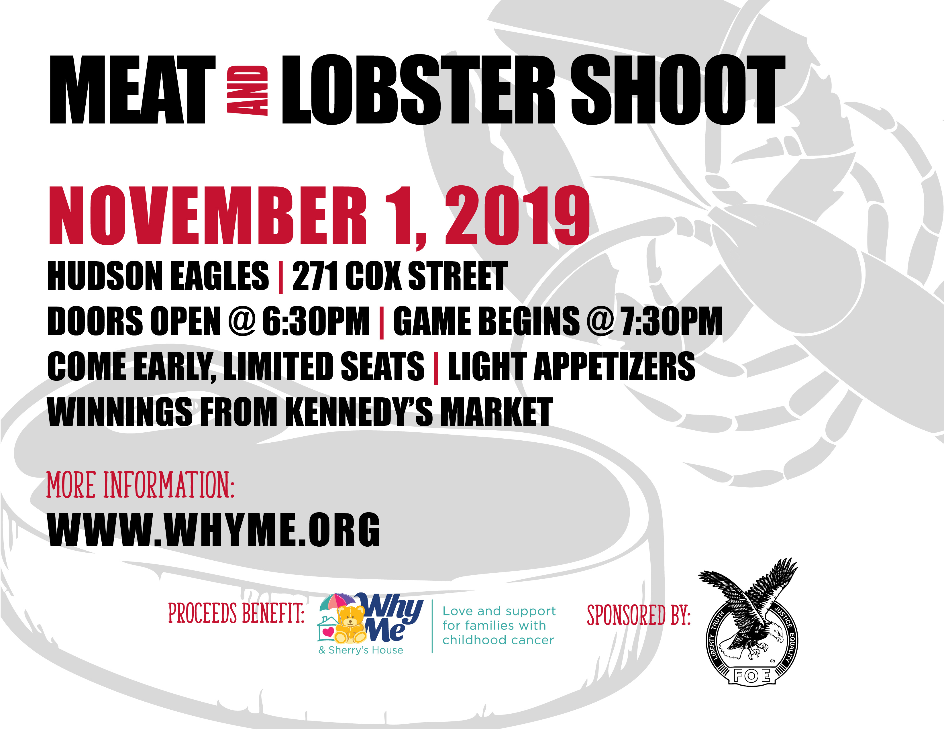 Meat and Lobster Shoot - Why Me